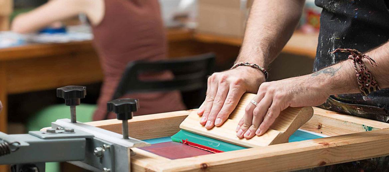 Screen Printing practical Training & Design